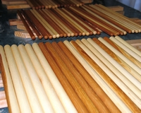 hickory drum sticks handmade by drumsticktony